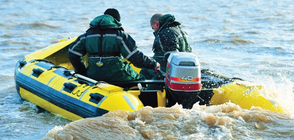 Humber Inflatable Work Boat 350-500